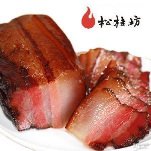 湖南湘西特产 松桂坊五花腊肉批发 500g 农家自制腊肉