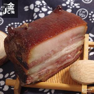 重庆特产腊三鲜肉腊肉厂家直销农家自制 腊肉 柏丫烟熏五花肉500g