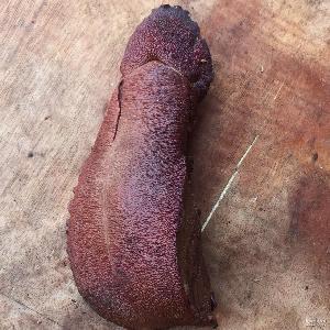 腊猪肝 农家正宗烟熏肉类 重庆城口腌腊制品腊肉 烟熏腊猪肝沙肝