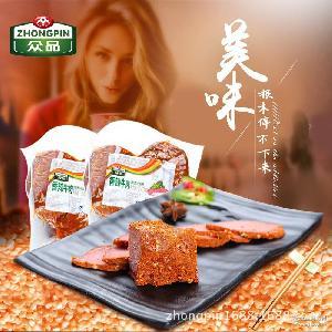 众品香辣牛肉酱卤牛肉即食肉类真空包装凉菜河南特产240g*35袋/箱