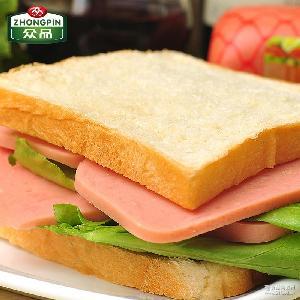 户外速食罐头食品旅行即食火腿肉450g 火腿猪肉 午餐肉 众品