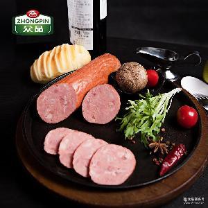 众品农家散养猪肉熏烤精火腿肉质鲜嫩火腿肠肉类特产食品320g