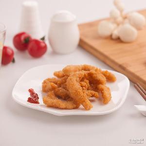 众品 原味鸡柳炸鸡鸡块无骨鸡柳鸡米花600g冷冻食品批发