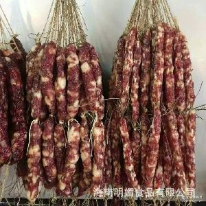 香肠 腊味 500g散装 广东连州 农家自制广式腊肠腊肉正宗土猪烤肠