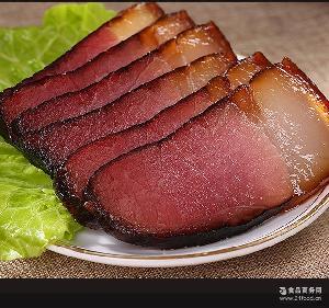 四川特产 腊味 年货腌腊制品 烟熏老腊肉 青城山老腊肉 458克