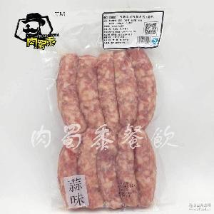 厂家热卖 台湾特产蒜香风味烤肠夜市小吃新鲜猪肉制作热狗肠冷冻
