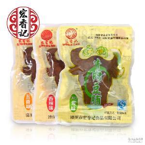 独立小包散装批发 福建特产厂家直销 宏香记手撕牛肉豆脯 香辣味