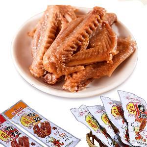 香辣原味鸭翅 45g开袋即食酱卤肉制品 卤鸭翅批发 零食批发直销