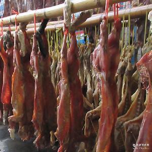 野生放养鲜嫩无添加腌制咸货 手工腌制野兔 农家特产自制年货野兔