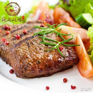 黑胡椒牛排配酱225g腌制好的牛肉冷冻牛肉批发家庭牛排