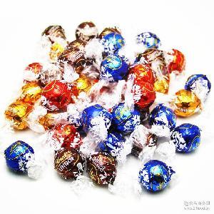软心lindor巧克力球 结婚喜糖 单颗 精选 Lindt瑞士莲 休闲小零食