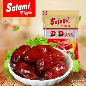 肉类零食 萨啦咪Salami烤猪肉枣BB小香肠丸子28g 休闲零食批发