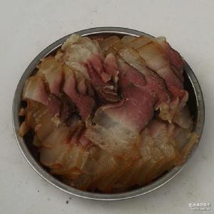 烟熏地道跑山猪农家腊肉450袋装 沐之源 四川土特产 热销供应