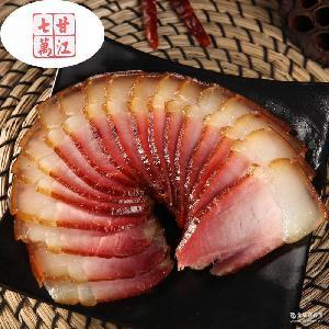 批发供应四川特产烟熏腊肉 农家精选土猪肉自制正宗川味老腊肉