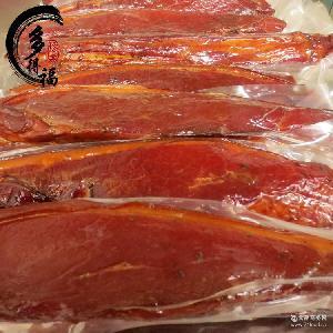 湖南特产 多得福食品 猪肉 柴火烟熏腊肉 优质腊肉 农家腊肉