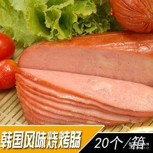 大海韩国风味烧烤肠熏烤火腿香肠350克厂家直销批发直供直营