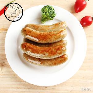 慕尼黑白肠直销烧烤猪肉香肠1kg真空热狗烤肠德国风味冷冻肠批发