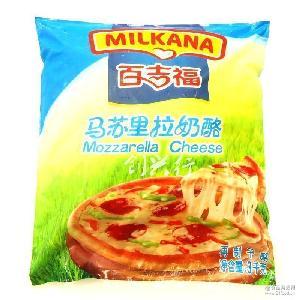 拉丝奶酪 披萨焗饭起司 3kg装不包邮 原装百吉福马苏里拉芝士碎