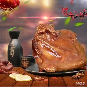 供应加工美味酱卤肉猪耳鲜香脆爽咬劲十足卤传统闷煮留美味200g