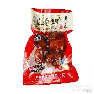 批发山东特产卤味鸡脚 乡巴佬味香辣凤爪节节香45个*48g 小包