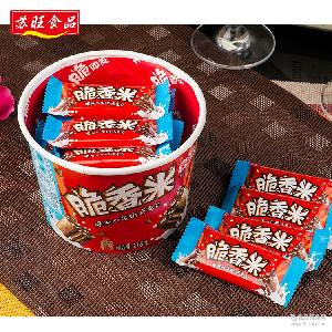 Dove德芙脆香米脆米心 牛奶夹心巧克力216g 零食喜糖年货满包邮