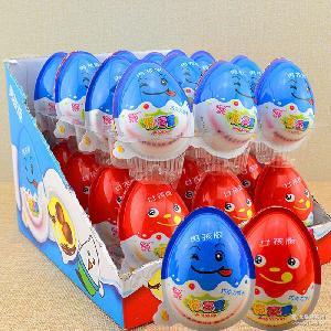 好之源创艺惊喜蛋玩具蛋惊奇蛋整盒24枚*15g巧克力饼干趣味蛋