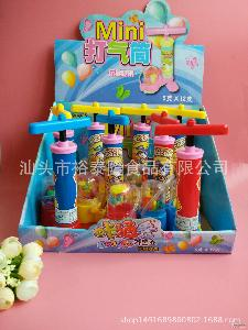 糖果厂家批发【淘宝爆款】5g趣味打气筒休闲零食好玩玩具糖果