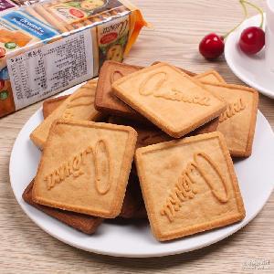 俄罗斯进口爱莲巧大头娃娃儿童饼干牛奶巧克力休闲零食品早餐批发