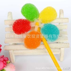 五色婚庆工程棒棒糖【24支装】波板图纸果喜不出可以变更玩具变更风车吗图片