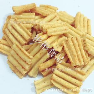 散装膨化空心薯条香脆薯片好多鱼 零食大礼包番茄味薯片10公斤