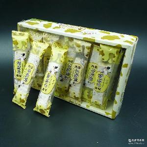 厂家直销儿童学生 休闲食品办公零食老丫头盒装咸味牛轧糖