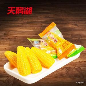 天鹅湖散装香软玉米软糖 1斤装喜糖批发 散装零食糖果批发