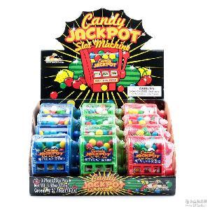 小卖部超市货源进口创意产品儿童玩具糖果扭糖机卡通零食休闲食品