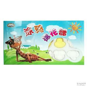 巧巧猫涂鸦棉花糖儿童益智玩具零食水果果酱涂抹棉花糖休闲零食