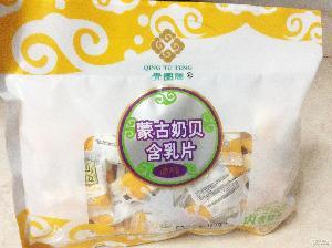 内蒙古特产奶贝 原味青图腾含乳片168g/袋 休闲零食奶制品批发