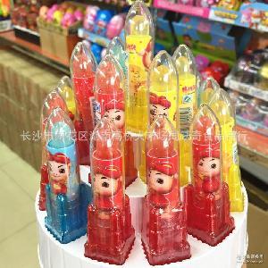 儿童玩具糖果5克*19支/盒 猪猪侠传奇五灵箭 口红糖水果硬糖