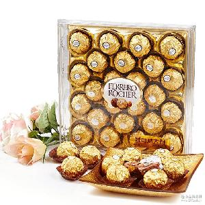 费列罗进口巧克力金莎T24粒礼盒装生日情人节年货婚庆糖果零食品