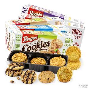 健康零食 无糖饼干 波兰进口 进口饼干 伯格无糖曲奇饼干