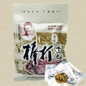 一件代发 广西玉林特产吴常昌棒打牛巴原味袋装108g零食小吃 批发