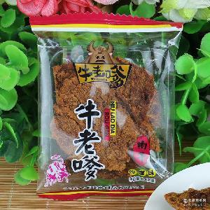年货*牛老嗲肉干 5斤批发 香辣味手撕肉干/肉片