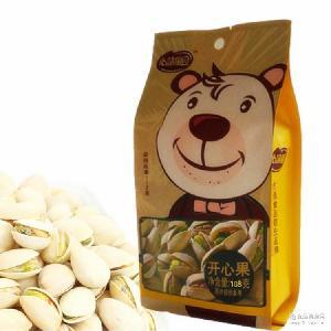 袋装原味开心果无漂白袋装干果坚果休闲零食小吃炒货食品88g/袋