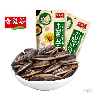 香盈谷休闲坚果炒货食品零食水煮味香瓜子160g精选葵花籽厂家批发