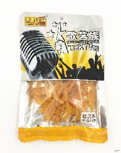 厂家直销 K歌艺族118g红薯条 炒货坚果 量贩式KTV* 招商代理