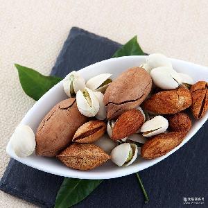 有零有食小颗粒大能量坚果炒货休闲食品 开心果巴旦木碧根果批发