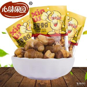 厂家直销心味果园150g玉带蚕豆坚果炒货休闲食品全国招商代理批发