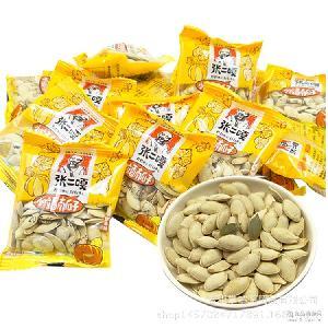 张二嘎小粒香南瓜子原味散称500g手拿包炒货南瓜籽休闲零食批发