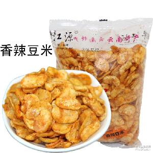 云南特产香辣味蚕豆220g炒货零食坚果散装香酥兰花豆休闲零食小吃