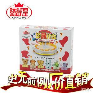 厂家直销 条装糖果批发 超浓牛奶酸奶味奶棒 十二生肖童趣软糖