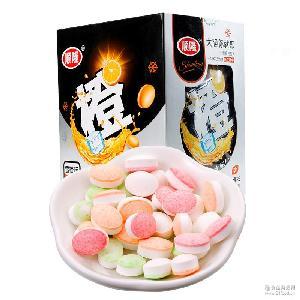 顺龙无糖薄荷糖清新爽口含片木糖醇润喉糖休闲零食糖果食品300g