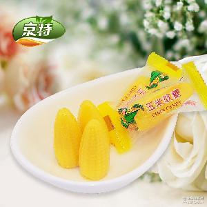 京特玉米软糖QQ糖食品糖果零食结婚喜糖儿童零食厂家直销6*5斤/箱